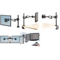 Fellowes TFT / LCD Monitor Double Professional, zwart 43859629718