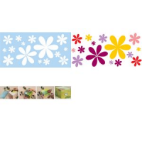 Marabu motief template Flower Power 150 x 330 mm 4007751599353
