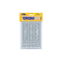 Kreul Tattoo sjabloon Hobby Line bands 2 4000798621438