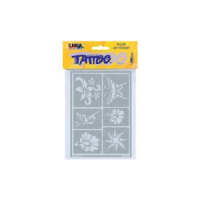 Kreul Tattoo sjabloon Hobby Line Sun Flowers 4000798621445 SC57601332