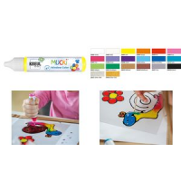 Kreul Window Color Pen Mucki glinsterende goud 29 ml 4000798244385