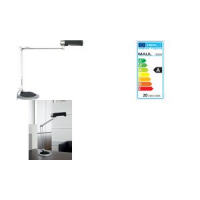 MAUL spaarlamp Maul Office zilver antraciet 4002390029919