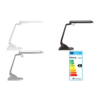 MAUL spaarlamp mond Adria stand zilver 4002390048392