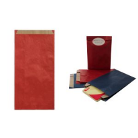 Agipa Gift Enveloppen kraft papier medium blauw 3270241016543
