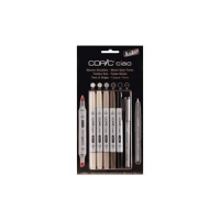 COPIC Marker Hobby ciao 5 1 set warm grijs 4013695261737