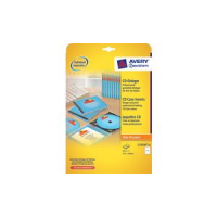 AVERY Zweckform inkjet CD inserts wit voor Slim Case 3266550275023