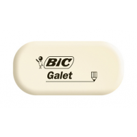 BIC rubbergom Galet wit ovaal 3086123388512