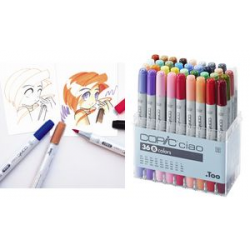 COPIC ciao markers hobby, 36s Set B 4511338008263