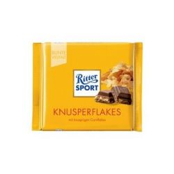 Ritter Sport chocolade cornflakes, 100 g 4000417011008