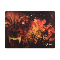 """LogiLink Glimmer Gaming Maus Pad """"Wolf"""" 4052792043839"""