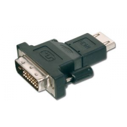 DIGITUS HDMI-aansluiting - DVI-D 18 + 1-polige stekker adapter 4016032335351