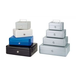 MAUL cashbox, blauw, afmetingen: (B) x 300 (T) x 245 (H) 90 mm 4002390011273