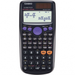 CASIO Scientific Calculator FX-85DE Plus, zonne-energie / batterij 4971850469018