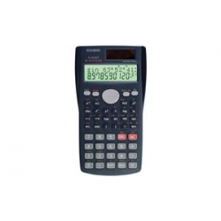 CASIO Scientific Calculator FX-85 MS, Solarbetrieb- / batterij 4971850137917