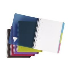 Claire Fontaine notebook Evolutiv'book, A5 +, Het kwadraat 5x5