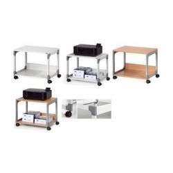Durable kantoor trolleys SYSTEM Multi Trolley 48, 2 planken, grijs 4005546301822