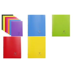 Cahier Clairefontaine Koverbook, 170 x 220 mm, Seyes, bleu 3037929514124