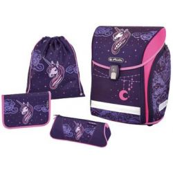 "Herlitz schooltas Midi Plus ""Unicorn Night"" 4008110558790"